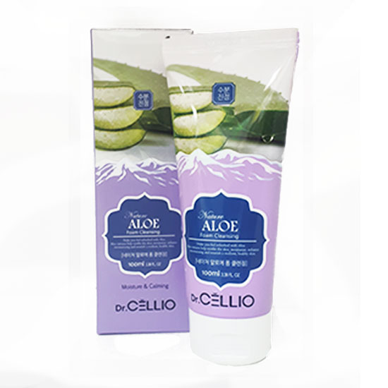 Пенка Dr.CELLIO G70 NATURE ALOE FOAM CLEANSING