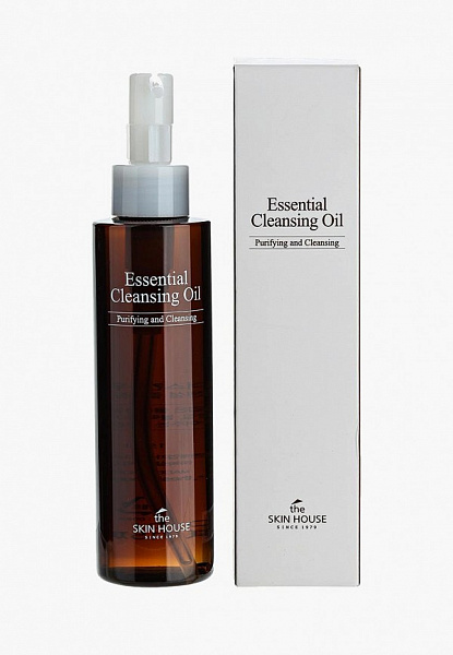 СКХ Масло для лица THE SKIN HOUSE ESSENTIAL CLEANSING OIL