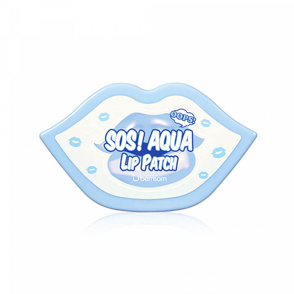 БР Маска-патч для губ BERRISOM SOS OOPS AQUA LIP PATCH - 30 PCS