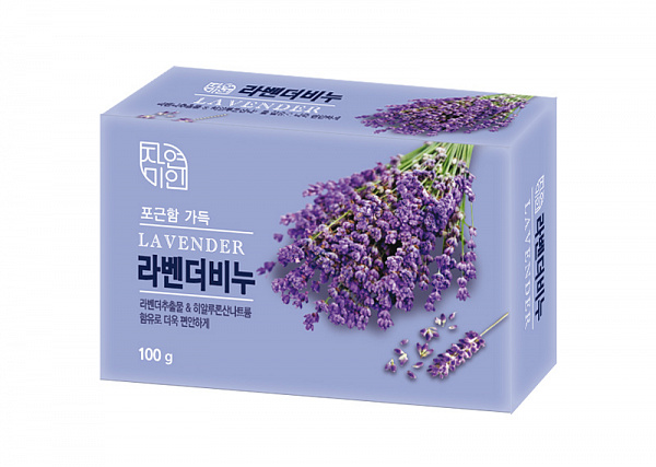 MUKUNGHWA Мыло туалетное Lavender Beauty Soap 100гр
