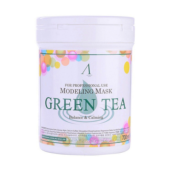 АН Original Маска альгинатная с экстр. зел.чая усп. (банка) 700мл Green Tea Modeling Mask /container