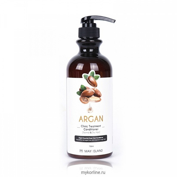 МСЛ Hair Кондиционер для волос Argan clinic treatment conditioner 750мл