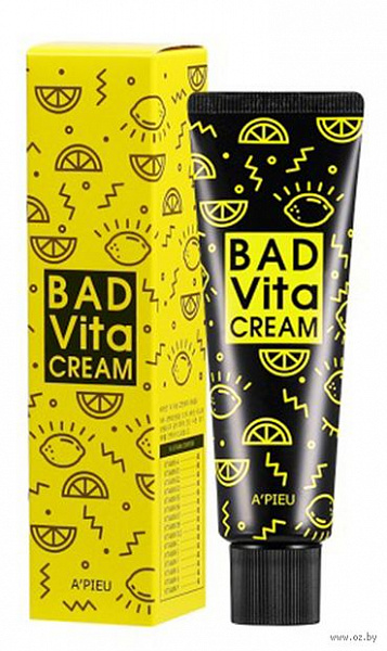 АП Крем для лица с витаминным комплексом A'PIEU Bad Vita Cream