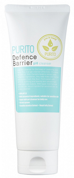 Пенка PURITO Defence Barrier Ph Cleanser 150ml