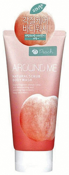 Скраб для тела Welcos Around me Natural Scrub Body Wash 200мл