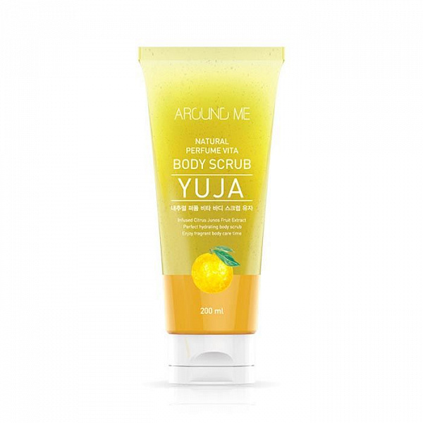 Скраб для тела Welcos Around Me Natural Perfume Vita Body Scrub Yuja 200гр