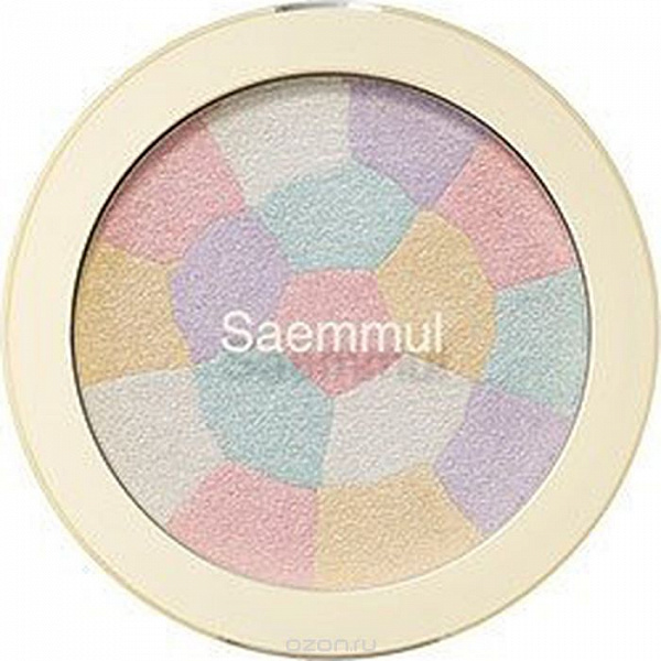 The Saem Хайлайтер минеральный 02 Saemmul Luminous Multi Highlighter 02. Gold Beige 8гр