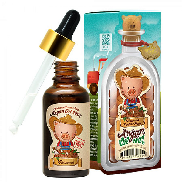 ЕЛЗ Масло elizavecca farmer piggy argan oil 100%