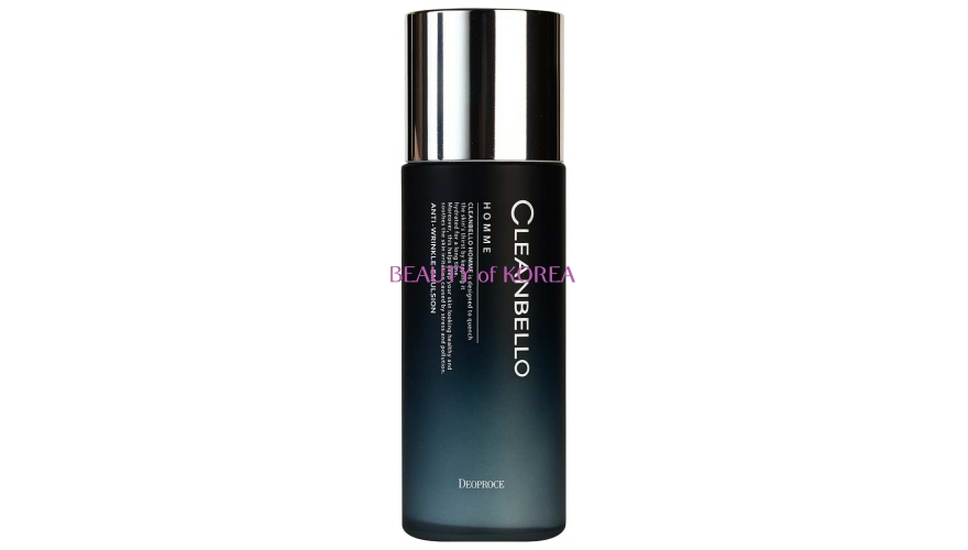 DEOPROCE Эмульсия мужская CLEANBELLO HOMME ANTI-WRINKLE EMULSION 150 мл