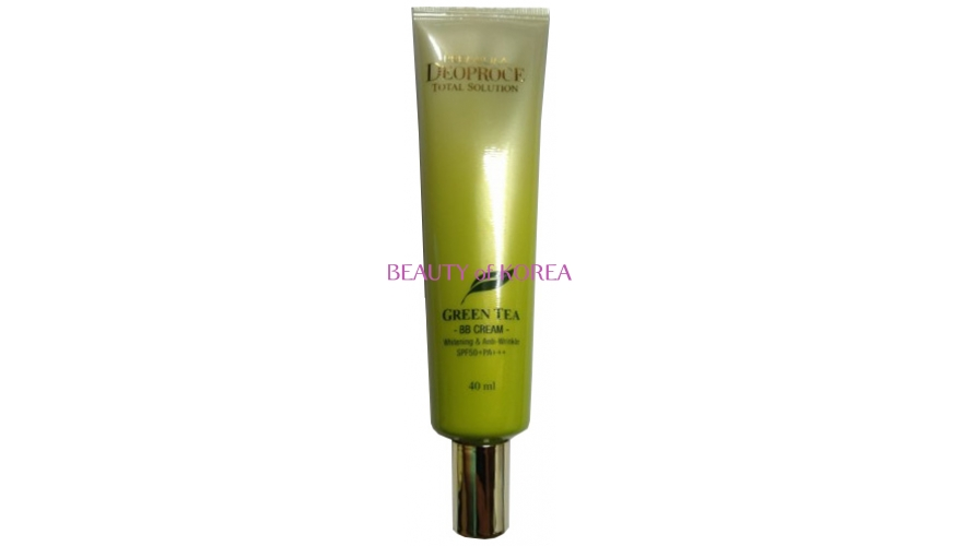 Крем ББ PREMIUM DEOPROCE GREENTEA TOTAL SOLUTION BB CREAM SPF50+PA+++