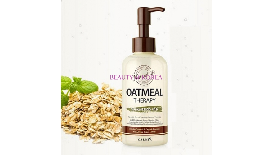 Гидрофильное масло CALMIA Oatmeal Therapy Cleansing Oil(200 мл)