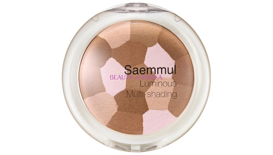 Пудра-бронзатор для лица THE SAEM Saemmul Luminous Multi-Shading