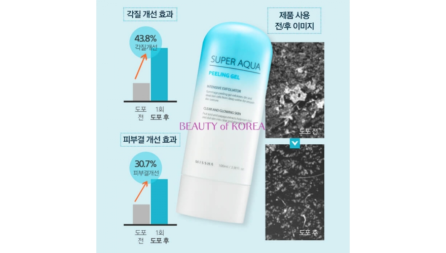 MISSHA Пилинг-гель для лица Super Aqua Peeling Gel 100 мл