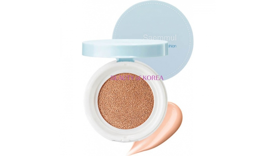 THE SAEM Тональная основа Saemmul Perfect Pore Cushion SPF50+ PA+++