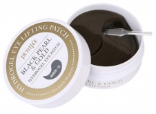 PETITFEE Гидрогелевые патчи для глаз ЖЕМЧУГ/ЗОЛОТО Black Pearl&Gold Hydrogel Eye Patch, 60 шт